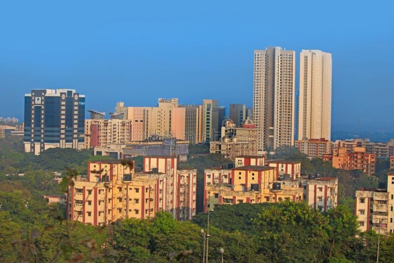 Mulund è un sobborgo di Mumbai immagine stock