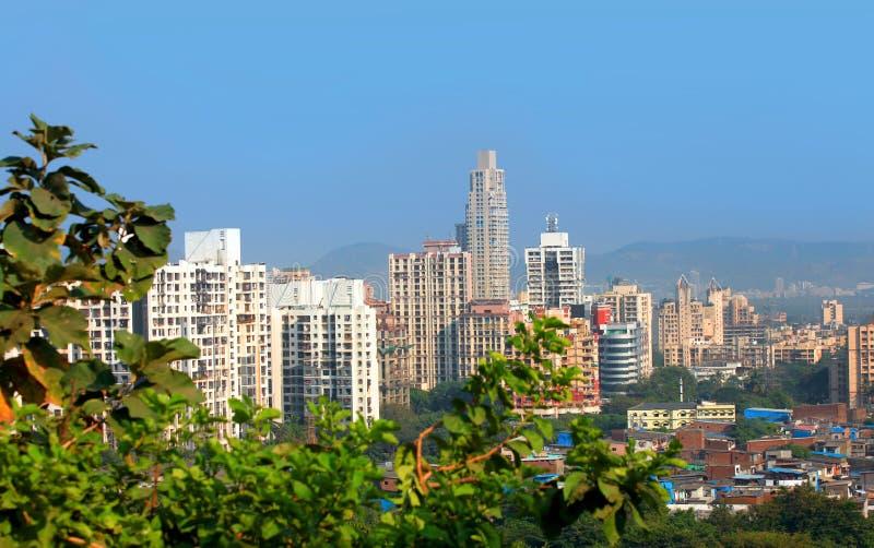 Mulund è un sobborgo di Mumbai fotografia stock libera da diritti