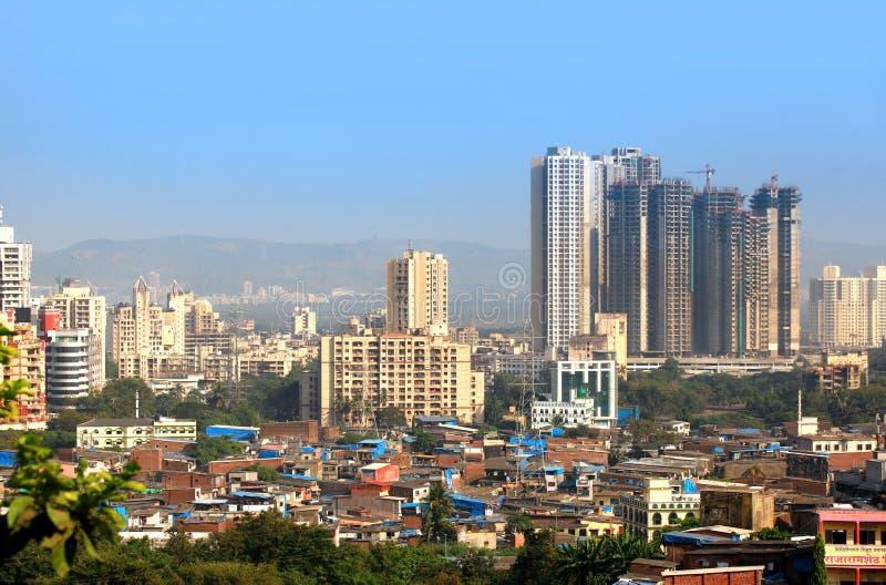Mulund è un sobborgo di Mumbai fotografie stock libere da diritti