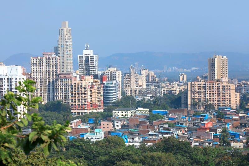Mulund ad ovest, sobborgo di Mumbai immagine stock libera da diritti