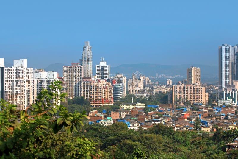 Mulund ad ovest, sobborgo di Mumbai immagine stock