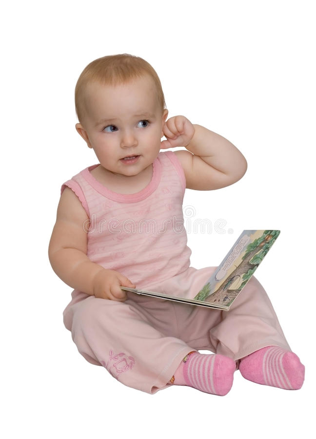 Mum, I has forgotten the letter! royalty free stock images
