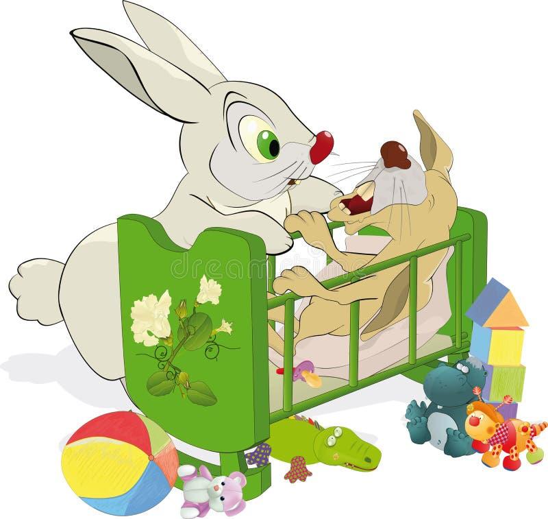 mum not obedient rabbit small ελεύθερη απεικόνιση δικαιώματος