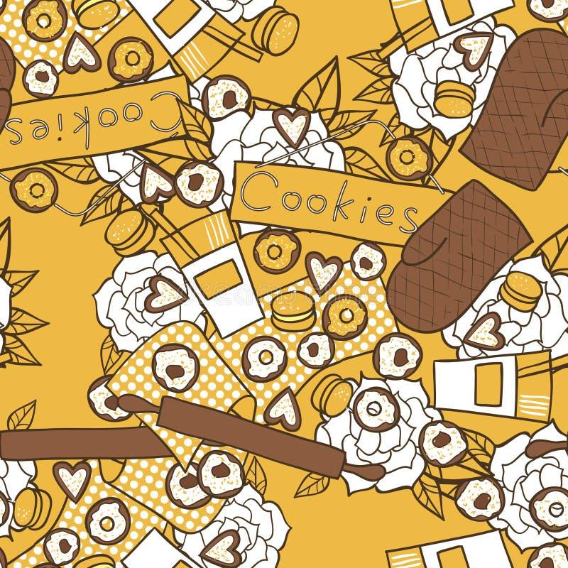 Download Mum's kitchen stock vector. Image of dessert, domestic - 28938846
