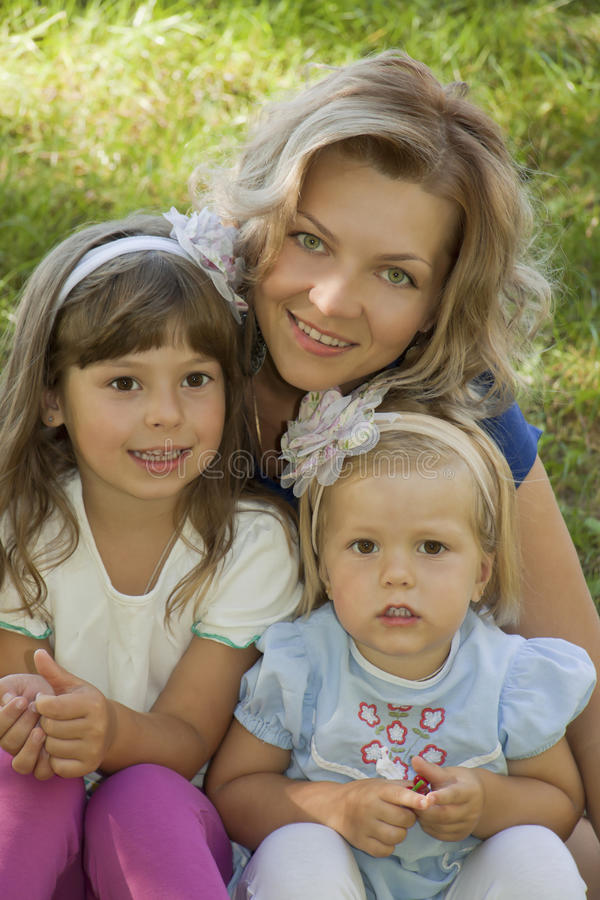 Mum S Tenderness Stock Photography