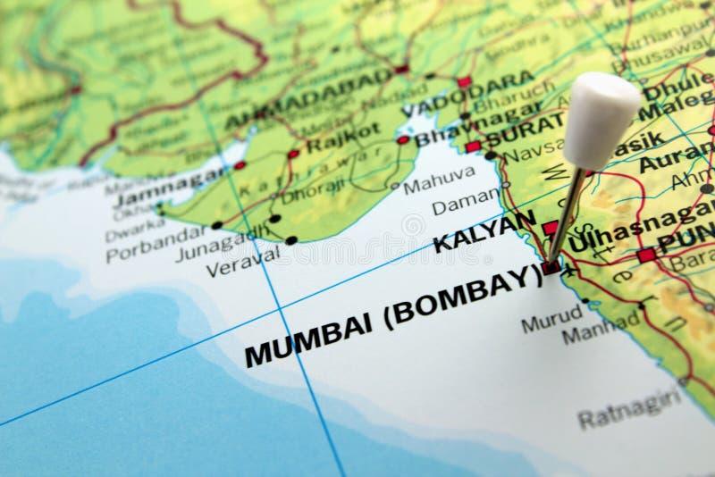 Mumbai översikt royaltyfria foton