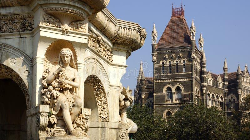 mumbai Индии фонтана флоры стоковые изображения