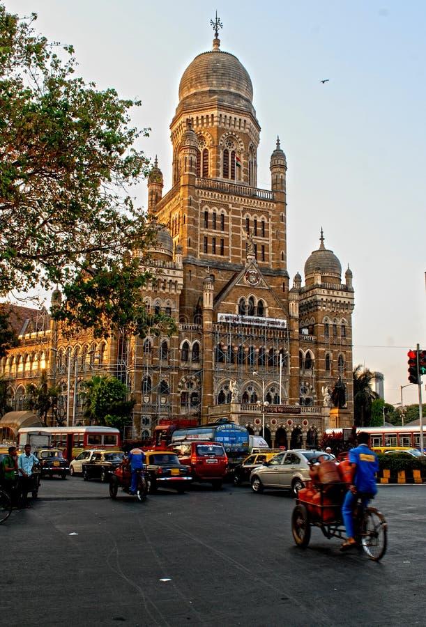 Mumbai befolkning arkivfoto