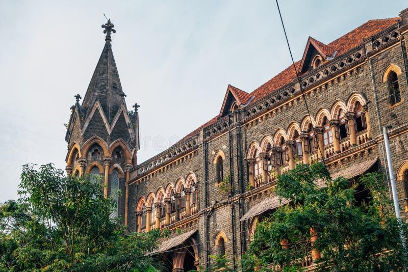 Mumbai Bombay sąd najwyższy w India zdjęcie royalty free