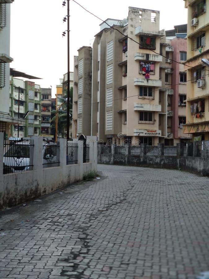 Mumbai_Buildings fotografia stock