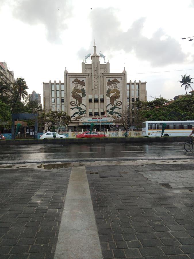 Mount Mary Church in India stock photo
