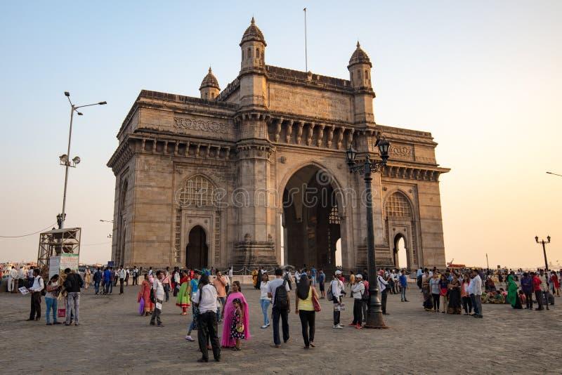 Mumbai, cancello dell'India immagine stock