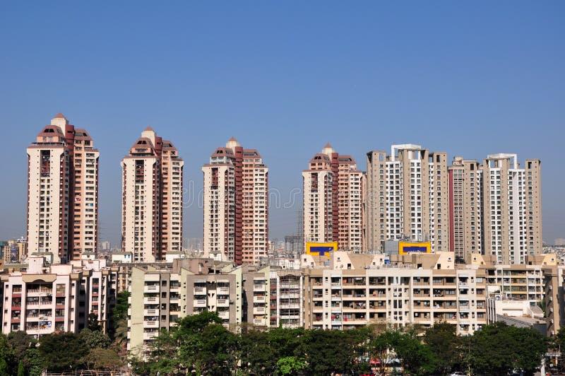 Mumbai Cityscape royaltyfria foton