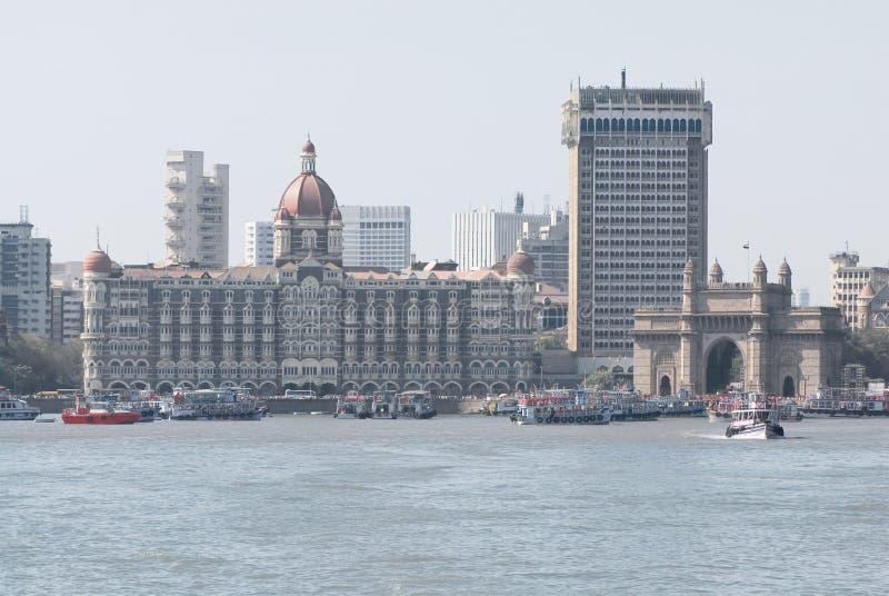 Mumbai, de poort van India stock fotografie