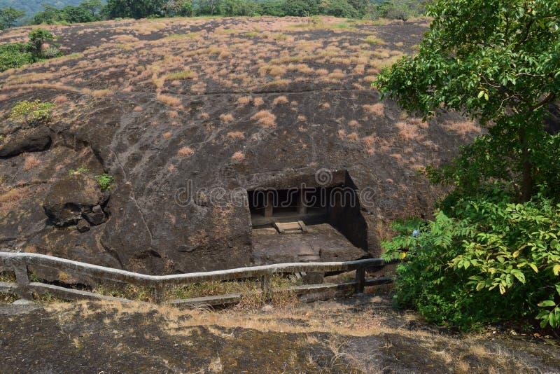 Mumbai-Höhlen lizenzfreies stockbild