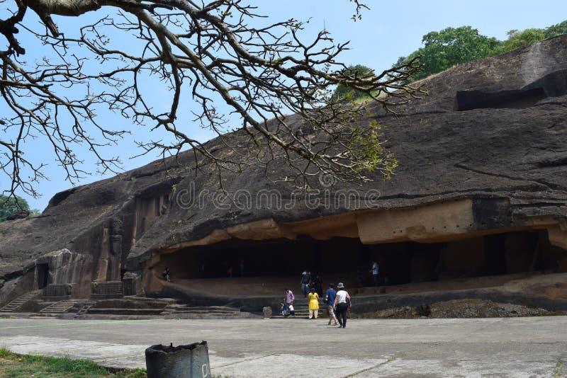 Mumbai-Höhlen stockbild