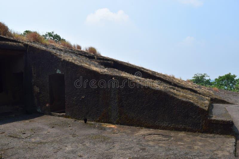 Mumbai-Höhlen lizenzfreie stockfotos