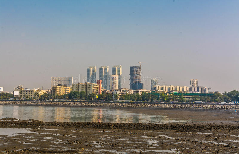 Download Mumbai From Haji Ali Dargah Stock Image - Image: 83711445