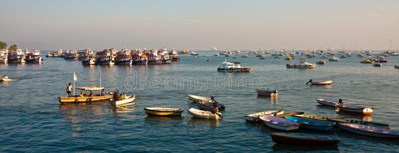 Mumbai Harbor stock photos