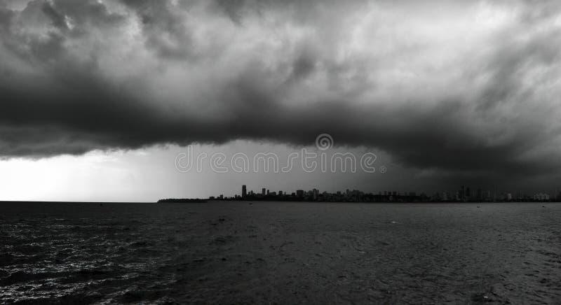 Mumbai horisont arkivfoto