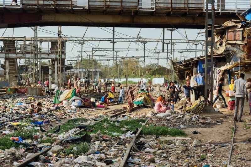 Indian Slum Area editorial image. Image of bihar, asia