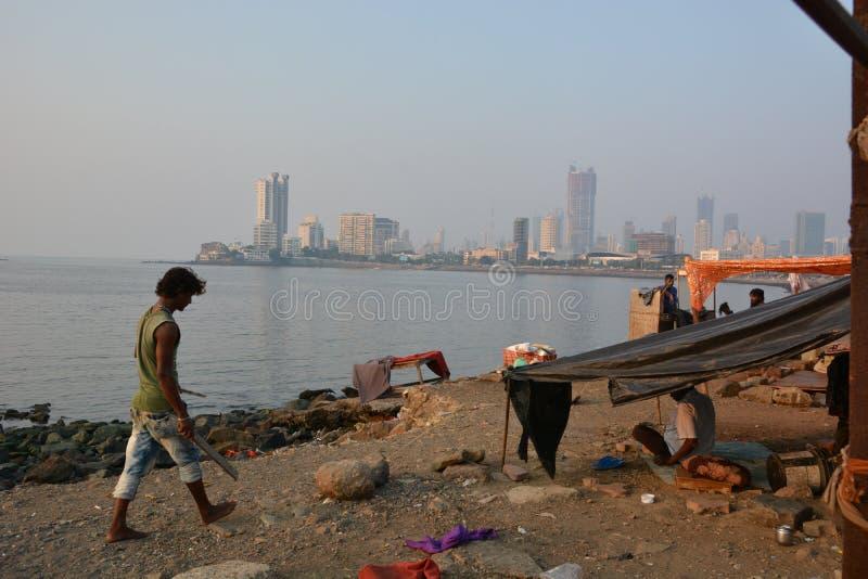Mumbai kontrasty zdjęcia stock