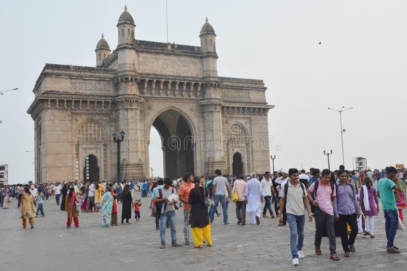 Mumbai, porte de l'Inde photographie stock