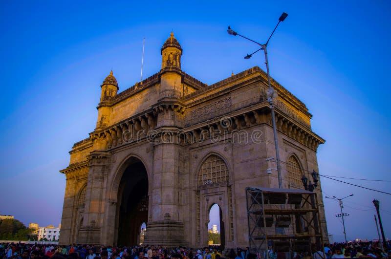 Mumbai, puerta de la India fotos de archivo libres de regalías