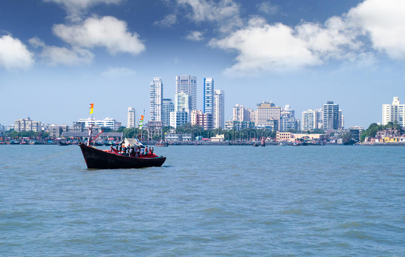 Mumbai Skyline lizenzfreie stockfotografie
