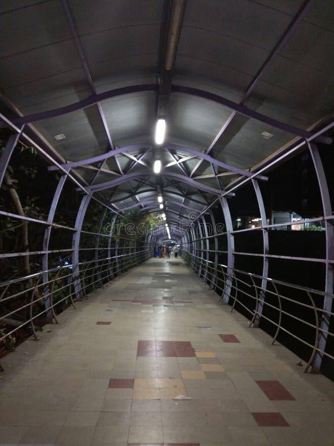 Mumbai skywalk błogi fotografia stock