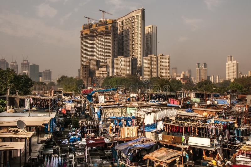 Mumbai stad royaltyfria bilder