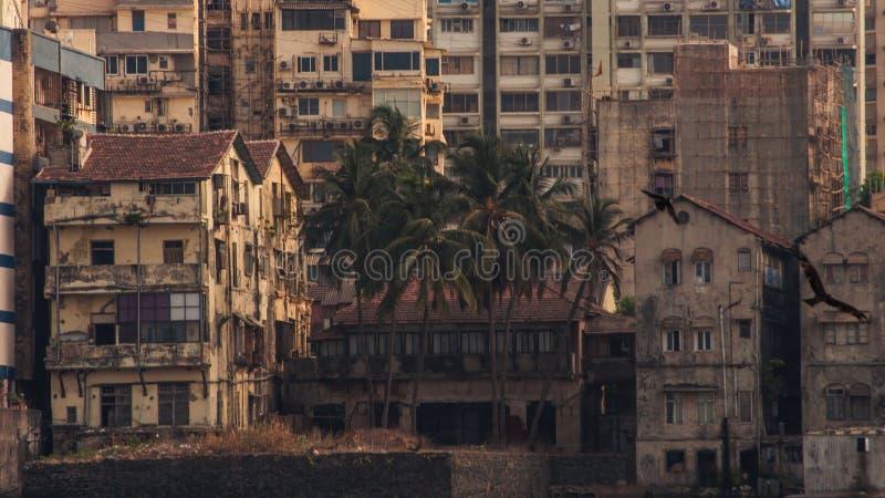 Mumbai stadshem arkivfoto