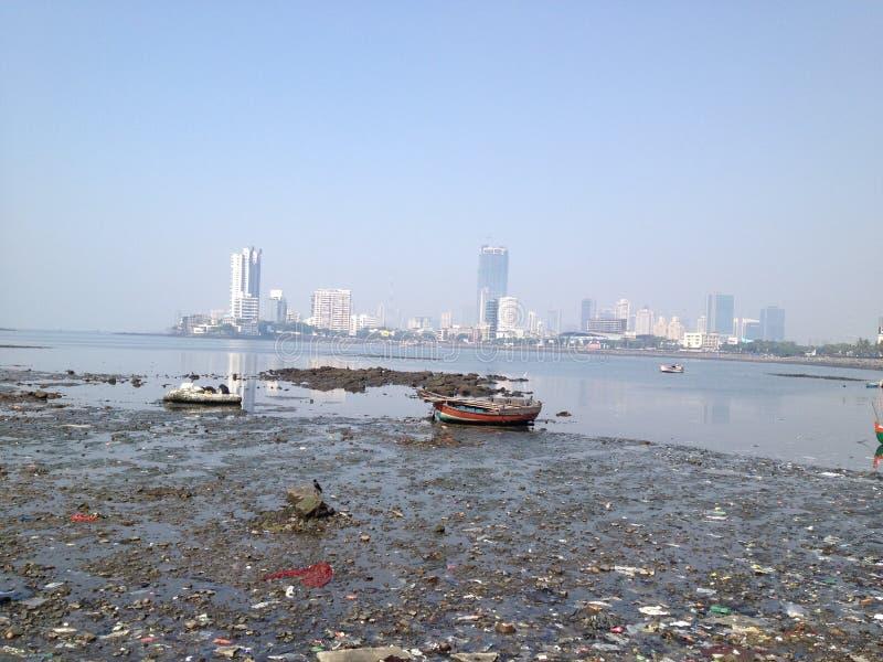 Mumbai stadssikt, Indien fotografering för bildbyråer