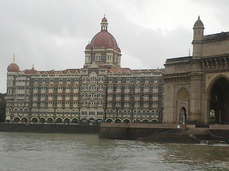 Mumbai Taj Mahal Hotel célèbre photo libre de droits
