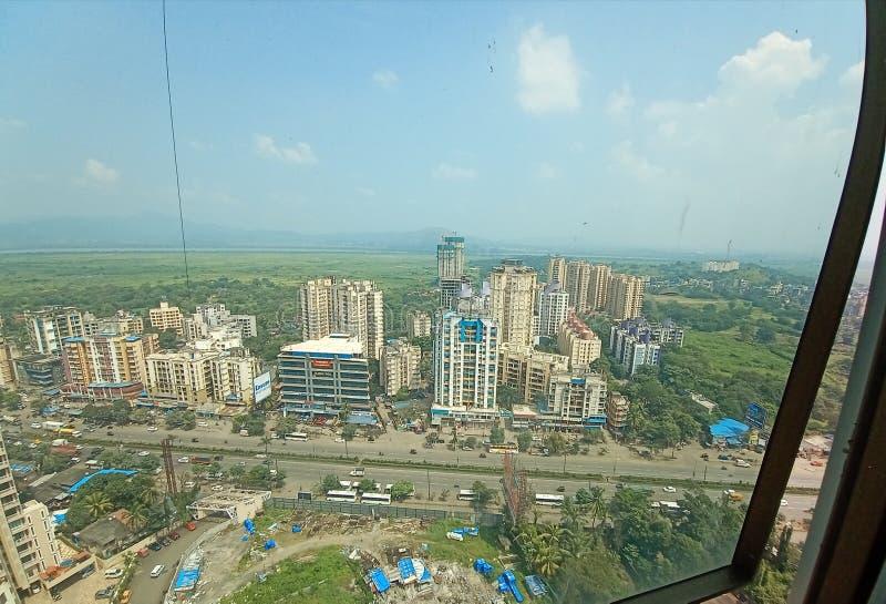 Mumbai thane veiw stock photography