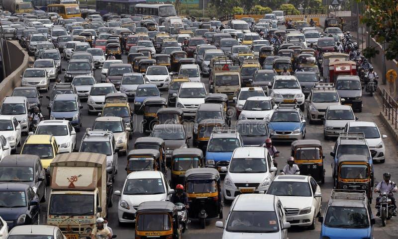 Mumbai Traffic royalty free stock photo