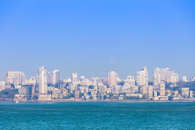 Mumbaihorizon royalty-vrije stock fotografie