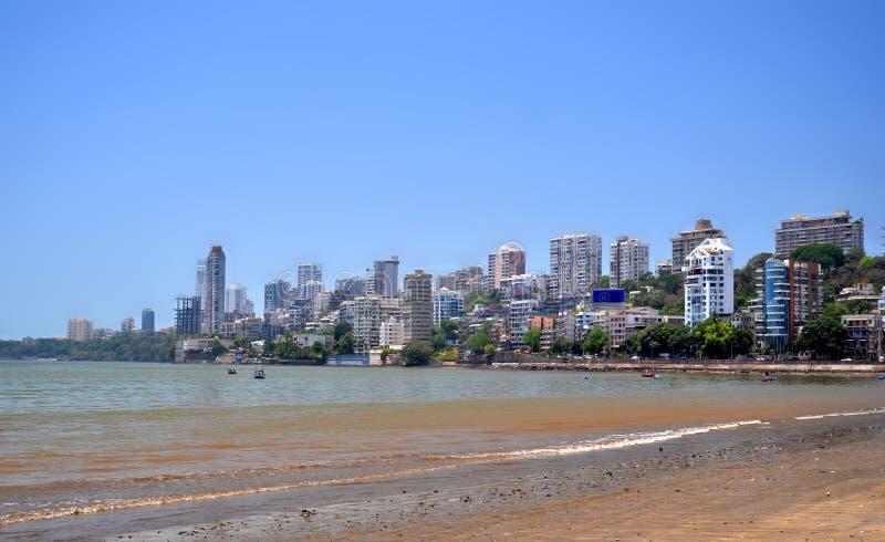 Mumbaihorizon stock afbeeldingen