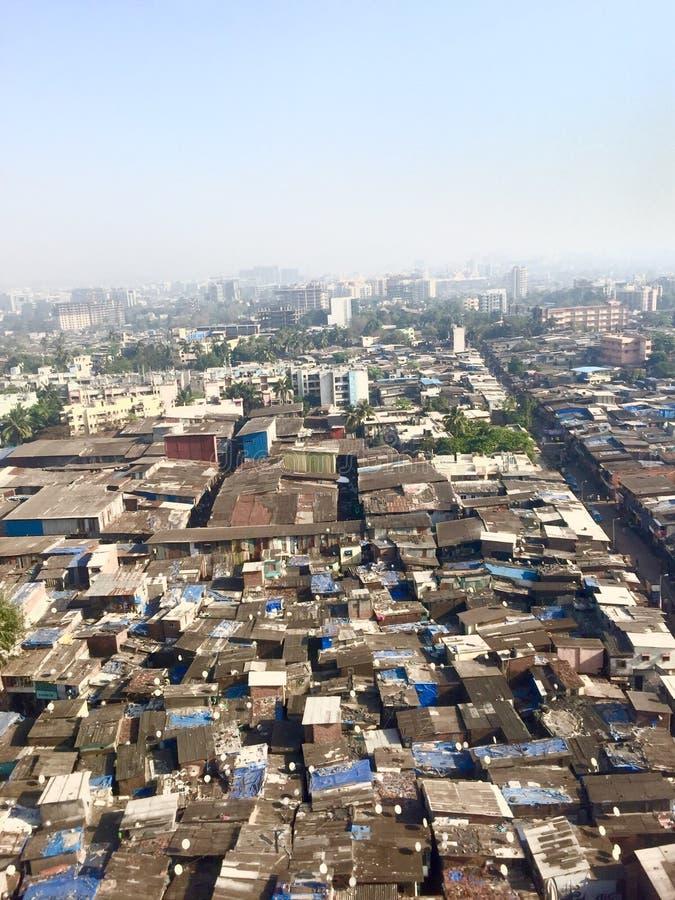 Mumbais Elendsviertel lizenzfreie stockfotografie