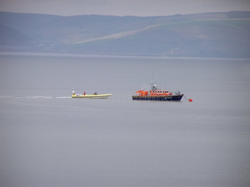 Download Mumbles Lifeboat stock image. Image of dinghy, boat, wales - 110267