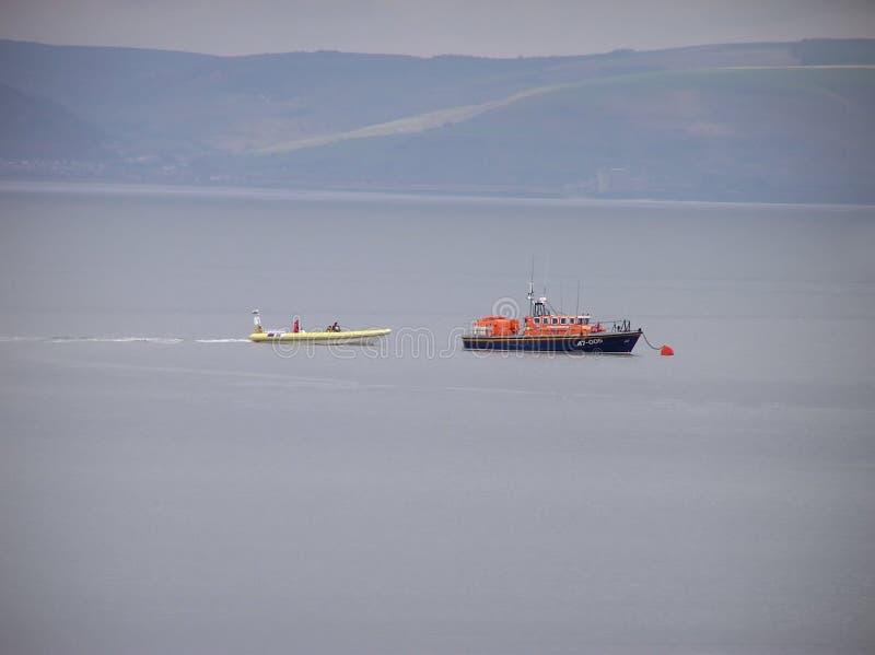 Mumlar Lifeboaten Royaltyfri Fotografi