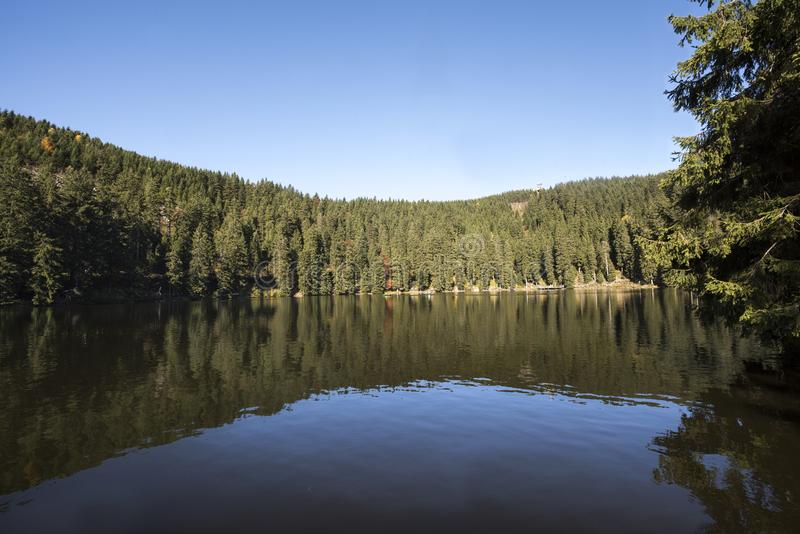 Mummelsee - Baden Wuerttemberg, Allemagne photographie stock