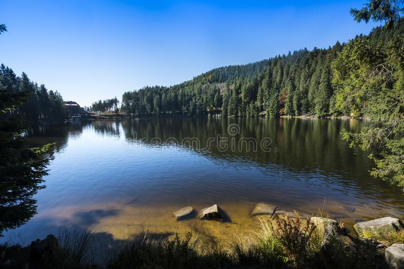 Mummelsee - Baden Wuerttemberg, Allemagne images stock