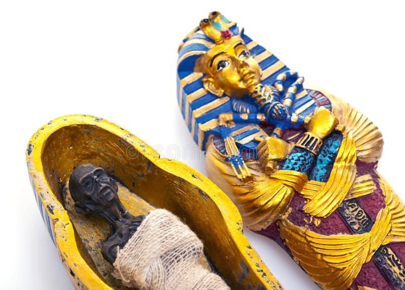 Mummia fotografie stock