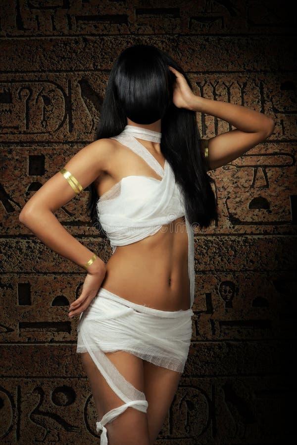 Mummia egiziana sexy immagine stock libera da diritti