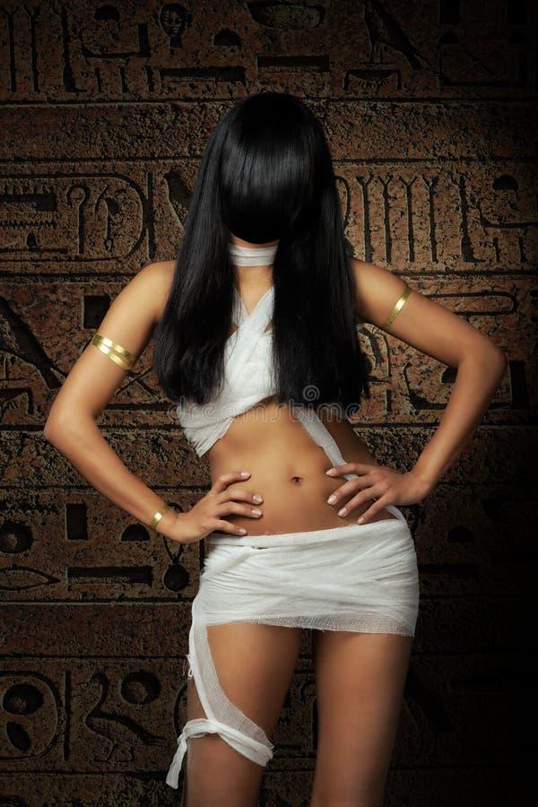 Mummia egiziana sexy fotografia stock libera da diritti