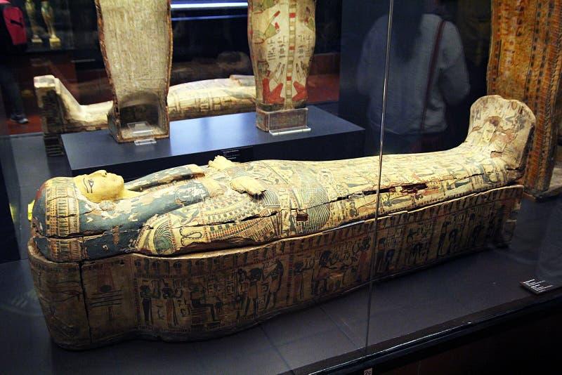 Mummia Vaticano immagini stock libere da diritti