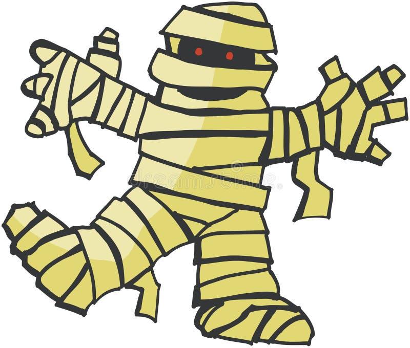 Download Mummy stock vector. Image of cartoon, spook, horror, monster - 545181