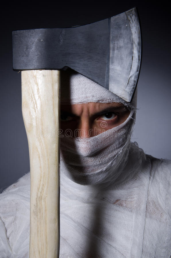 Download Mummy With Axe Stock Photos - Image: 33224833