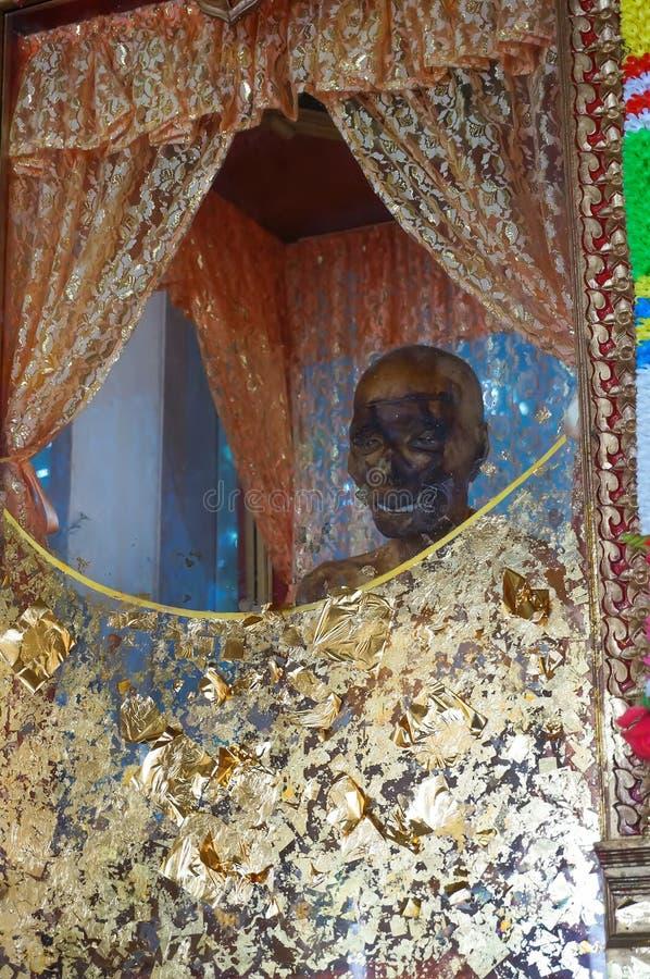Mummy of a Buddhist monk royalty free stock photo